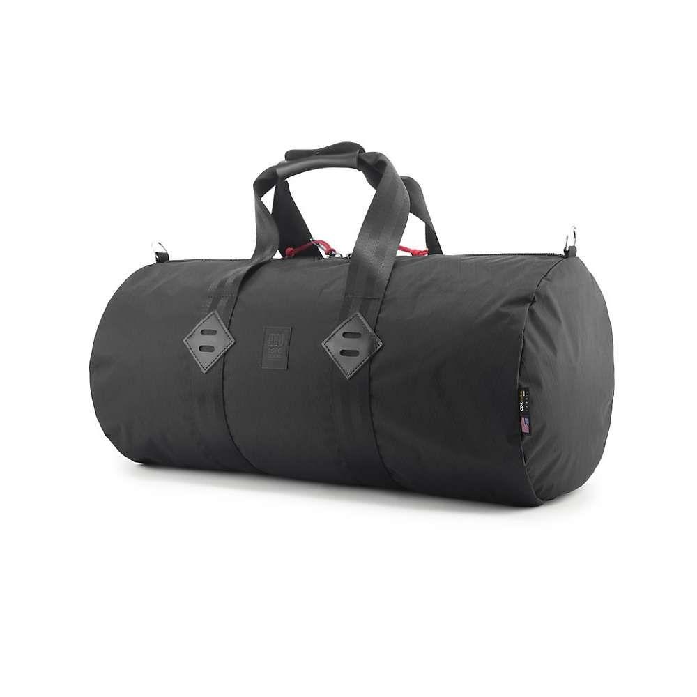 トポ デザイン Topo Designs ユニセックス バッグ ボストンバッグ・ダッフルバッグ【Classic Duffel Bag】X-Pac Black