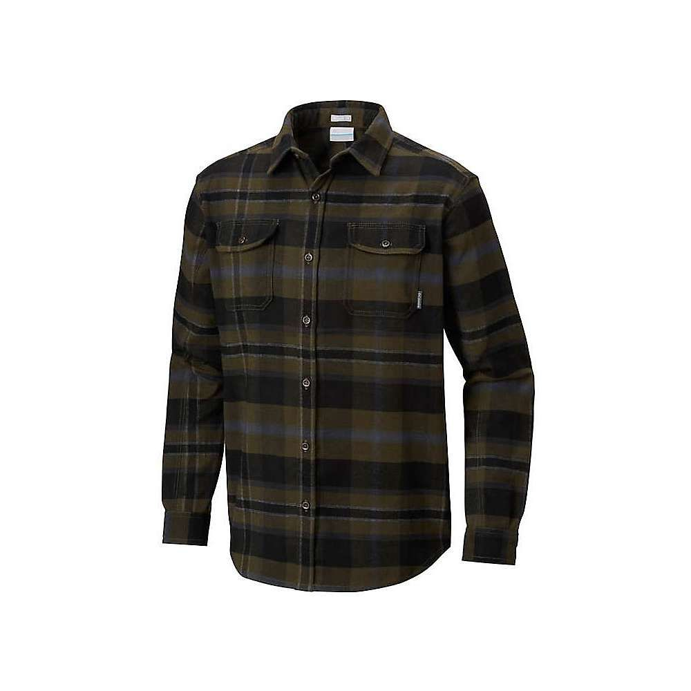 コロンビア Columbia メンズ ハイキング・登山 トップス【Deschutes River Heavyweight Flannel Shirt】Peatmoss Multi Plaid