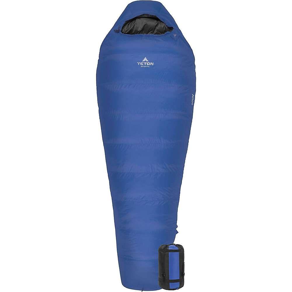 ティトンスポーツ Teton Sports ユニセックス ハイキング・登山【Altos +20F Ultralight Down Mummy Bag】Blue