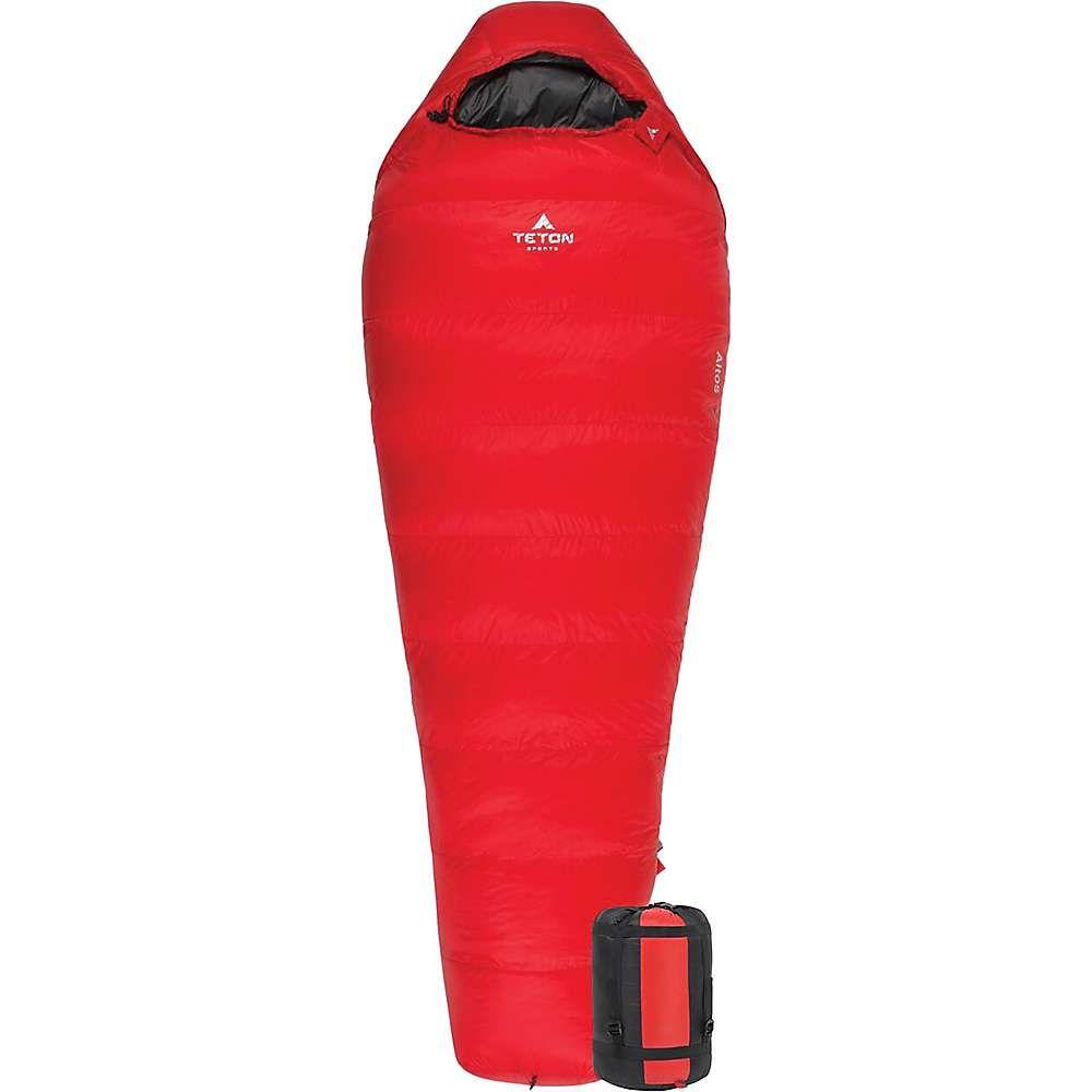 ティトンスポーツ Teton Sports ユニセックス ハイキング・登山【Altos -10F Ultralight Down Mummy Bag】Red