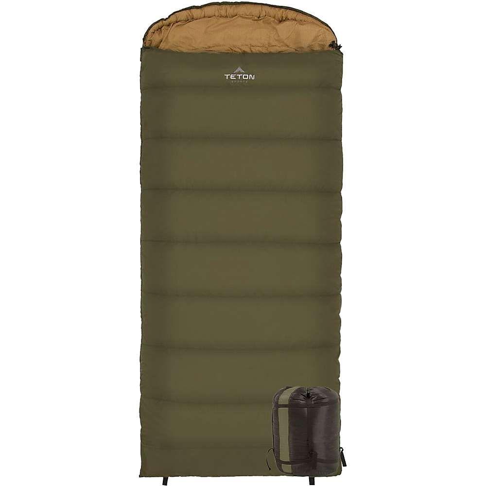 ティトンスポーツ Teton Sports ユニセックス ハイキング・登山【Celsius XL -18C / 0F Sleeping Bag】Green