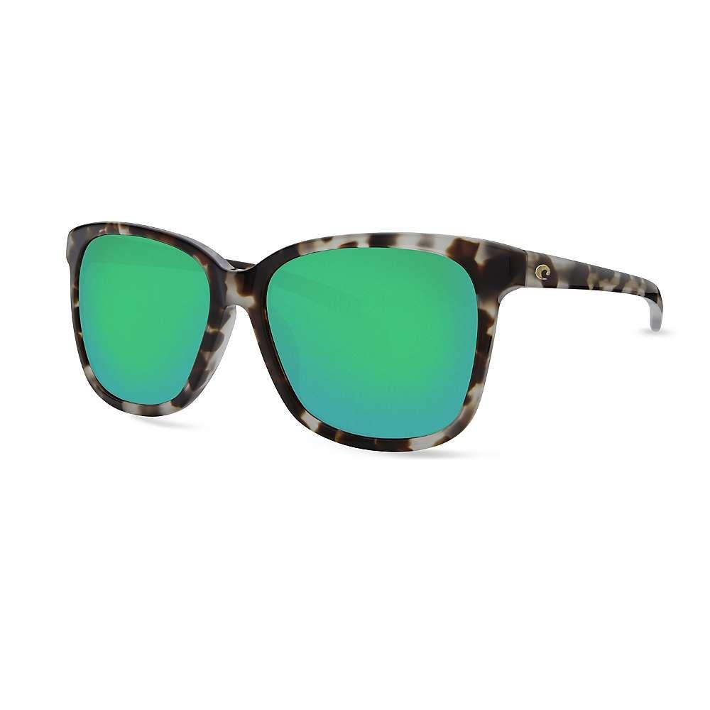コスタデルメール Costa Del Mar レディース メガネ・サングラス【May Polarized Sunglasses】Tiger Cowrie/Green G