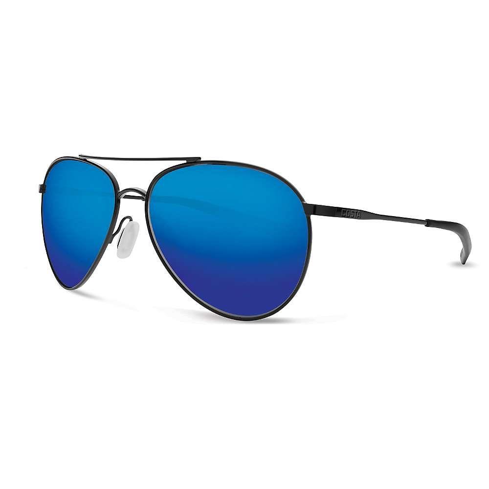 コスタデルメール Costa Del Mar ユニセックス メガネ・サングラス【Piper Polarized Sunglasses】Black/Blue G