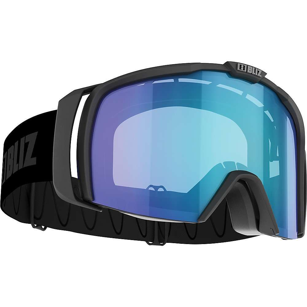 ブリッツ Bliz ユニセックス スキー・スノーボード ゴーグル【Nova USL Photochromatic Goggle】Matte Black / Orange / Blue Multi