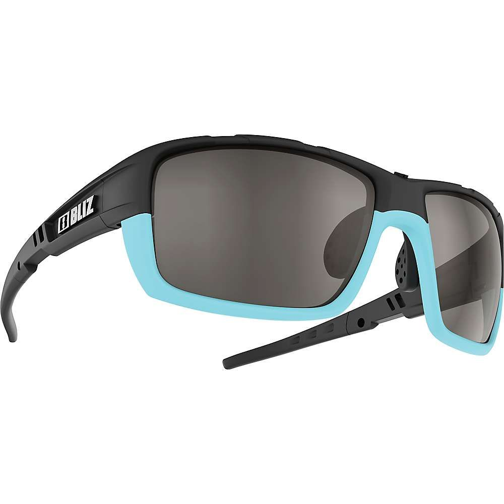 ブリッツ Bliz ユニセックス スポーツサングラス【Tracker OZON Sunglasses】Matte Black / Smoke / Silver Mirror