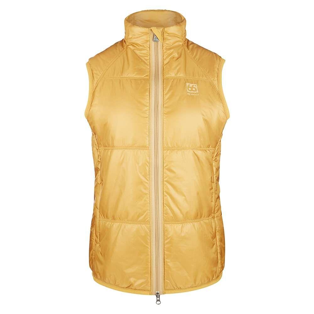 66ノース 66North レディース トップス ベスト・ジレ【Vatnajokull Primaloft Vest】Yellow Moss