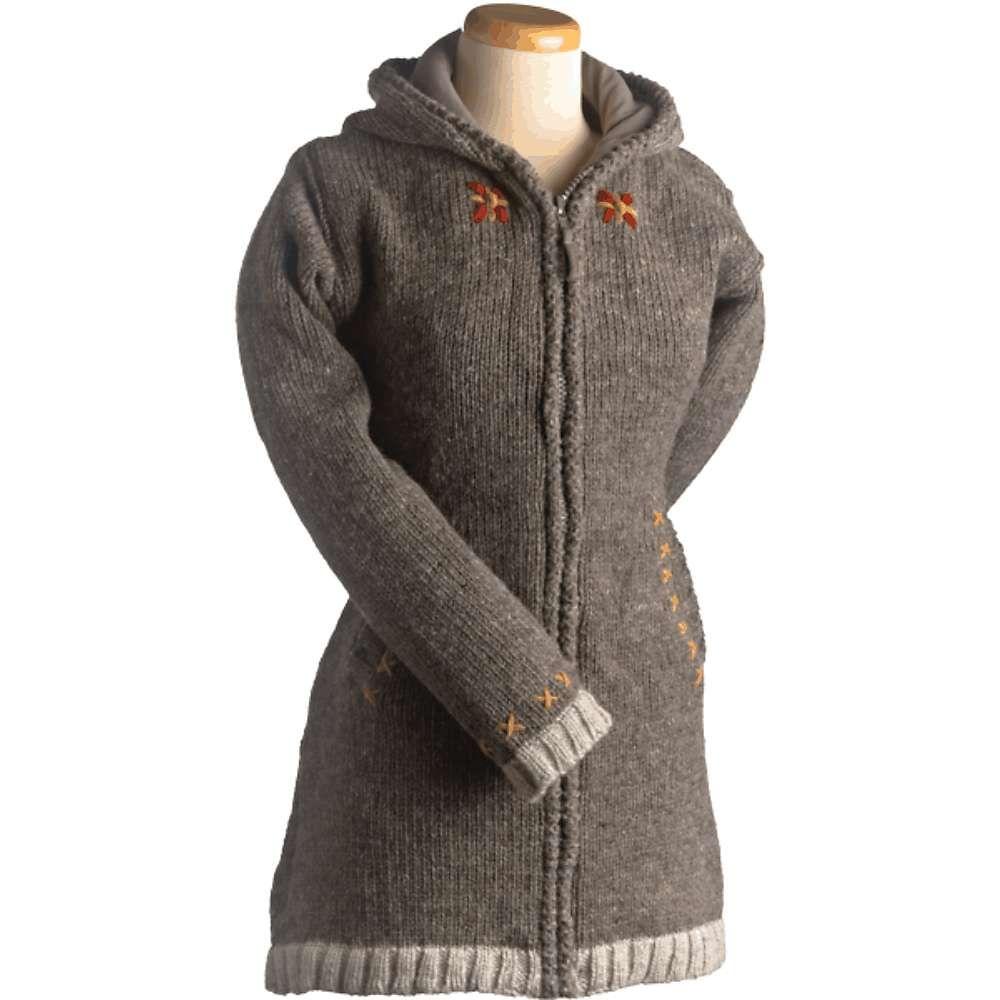 ランドロマット Laundromat レディース ハイキング・登山 トップス【Edelweiss Cotton Lined Sweater】Medium Natural