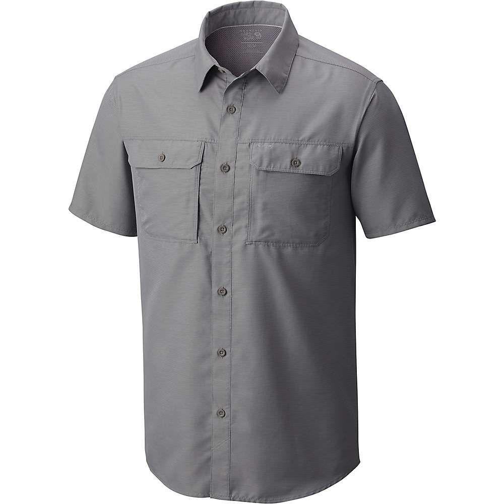マウンテンハードウェア Mountain Hardwear メンズ ハイキング・登山 トップス【Canyon SS Shirt】Manta Grey