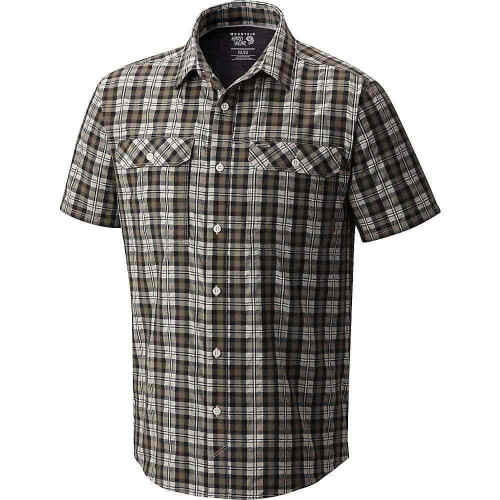 マウンテンハードウェア Mountain Hardwear メンズ ハイキング・登山 トップス【Canyon AC SS Shirt】Darklands