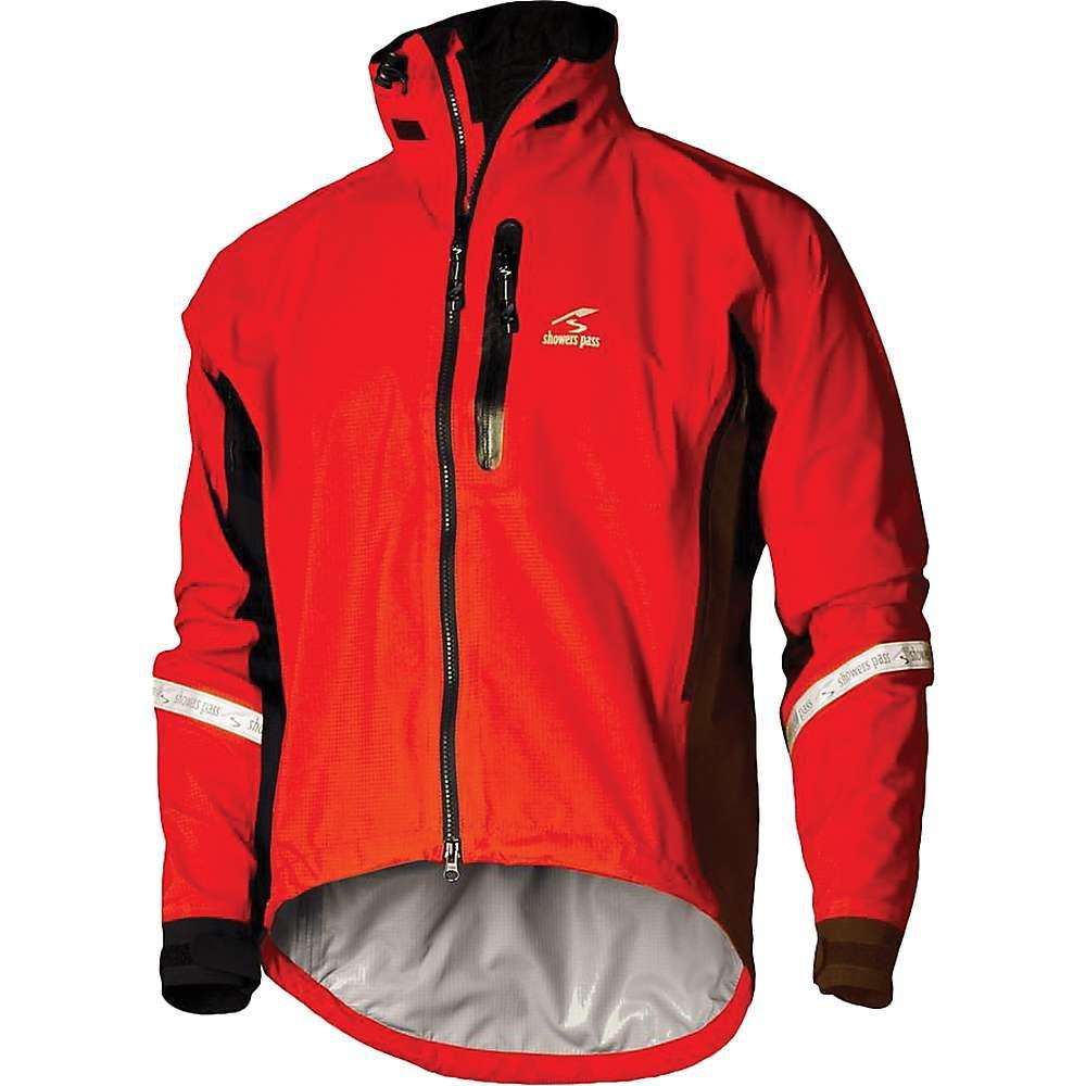 シャワーズ パス Showers Pass メンズ 自転車 アウター【Elite 2.1 Jacket】Cayenne Red