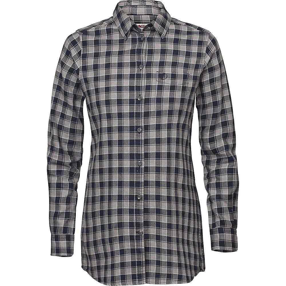 フェールラーベン Fjallraven レディース ハイキング・登山 トップス【High Coast Flannel LS Shirt】Night Sky / Fog