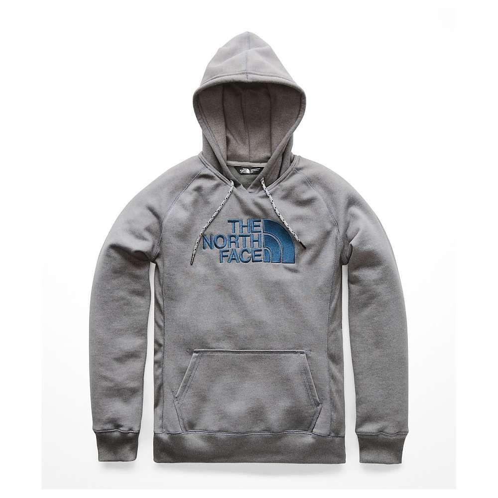 ザ ノースフェイス The North Face レディース ハイキング・登山 トップス【Half Dome Heavyweight Pullover】TNF Medium Grey Heather / Blue Wing Teal
