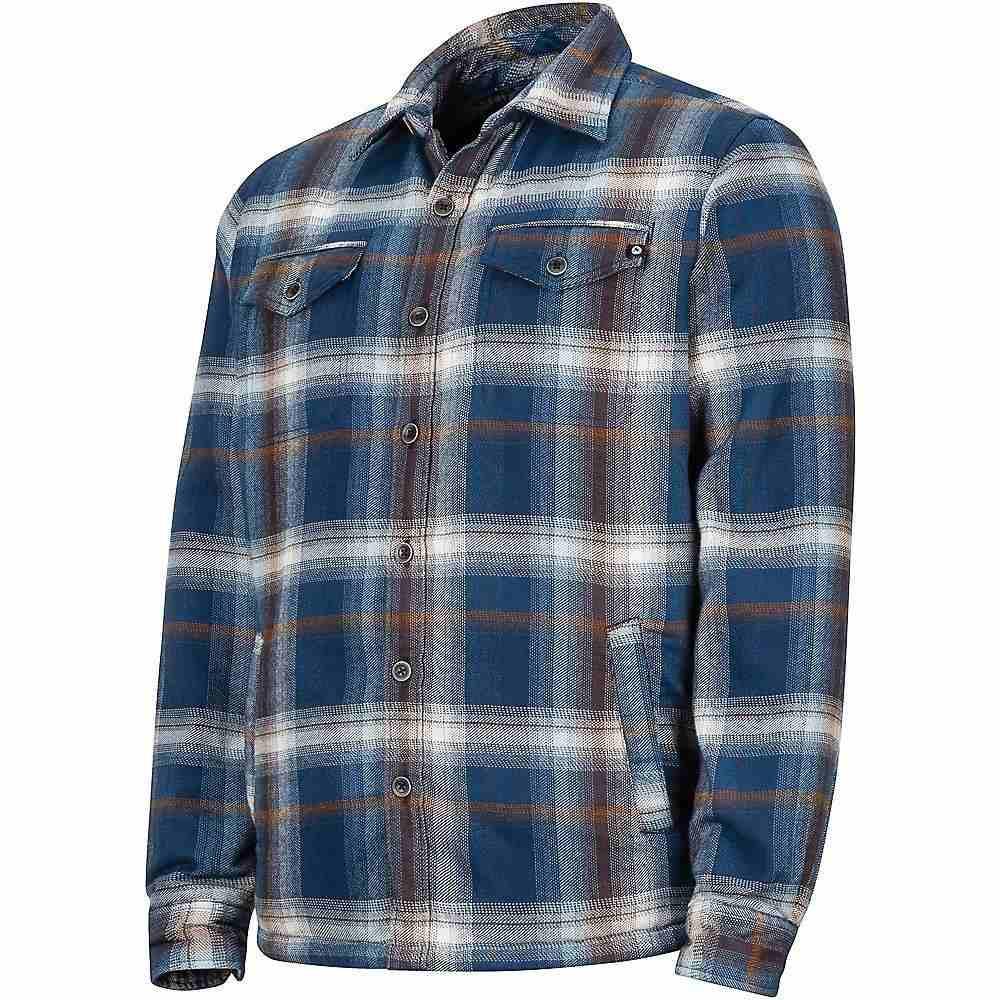 マーモット Marmot メンズ ハイキング・登山 トップス【Ridgefield LS Shirt】Arctic Navy