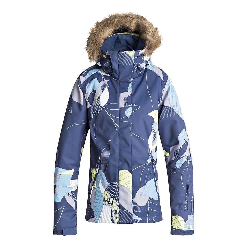 ロキシー Roxy レディース スキー・スノーボード アウター【Jet Ski Jacket】Crown Blue / Bold Petal