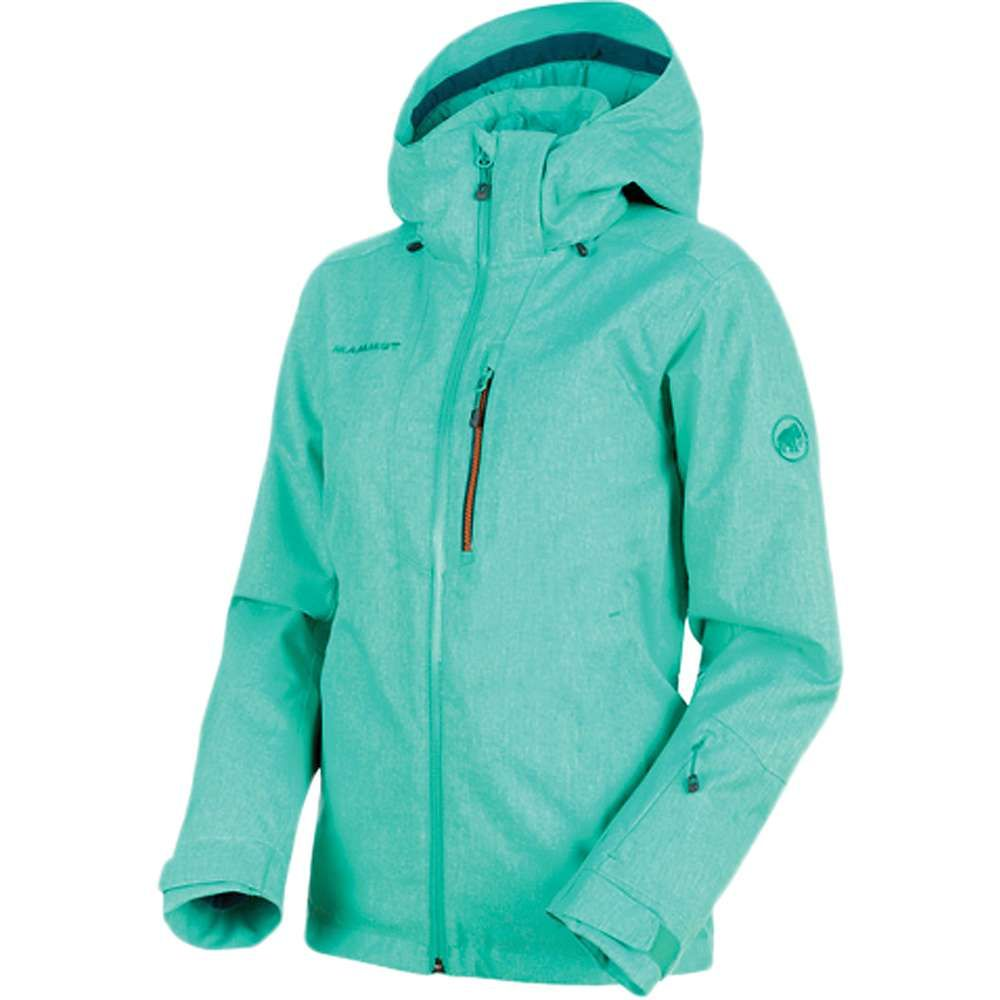 マムート Mammut レディース スキー・スノーボード アウター【Stoney HS Thermo Jacket】Atoll Melange / Atoll