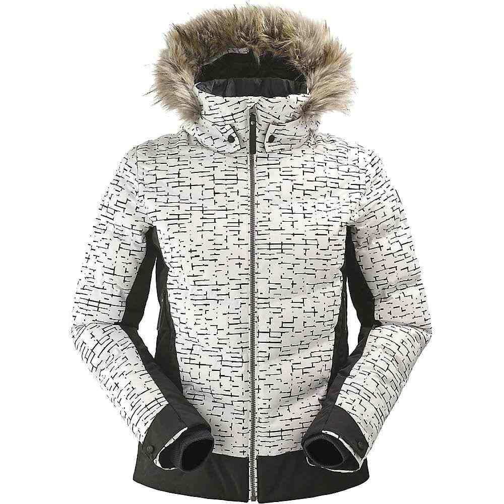 アイダー Eider レディース スキー・スノーボード アウター【Downtown Street ES Jacket】White Print