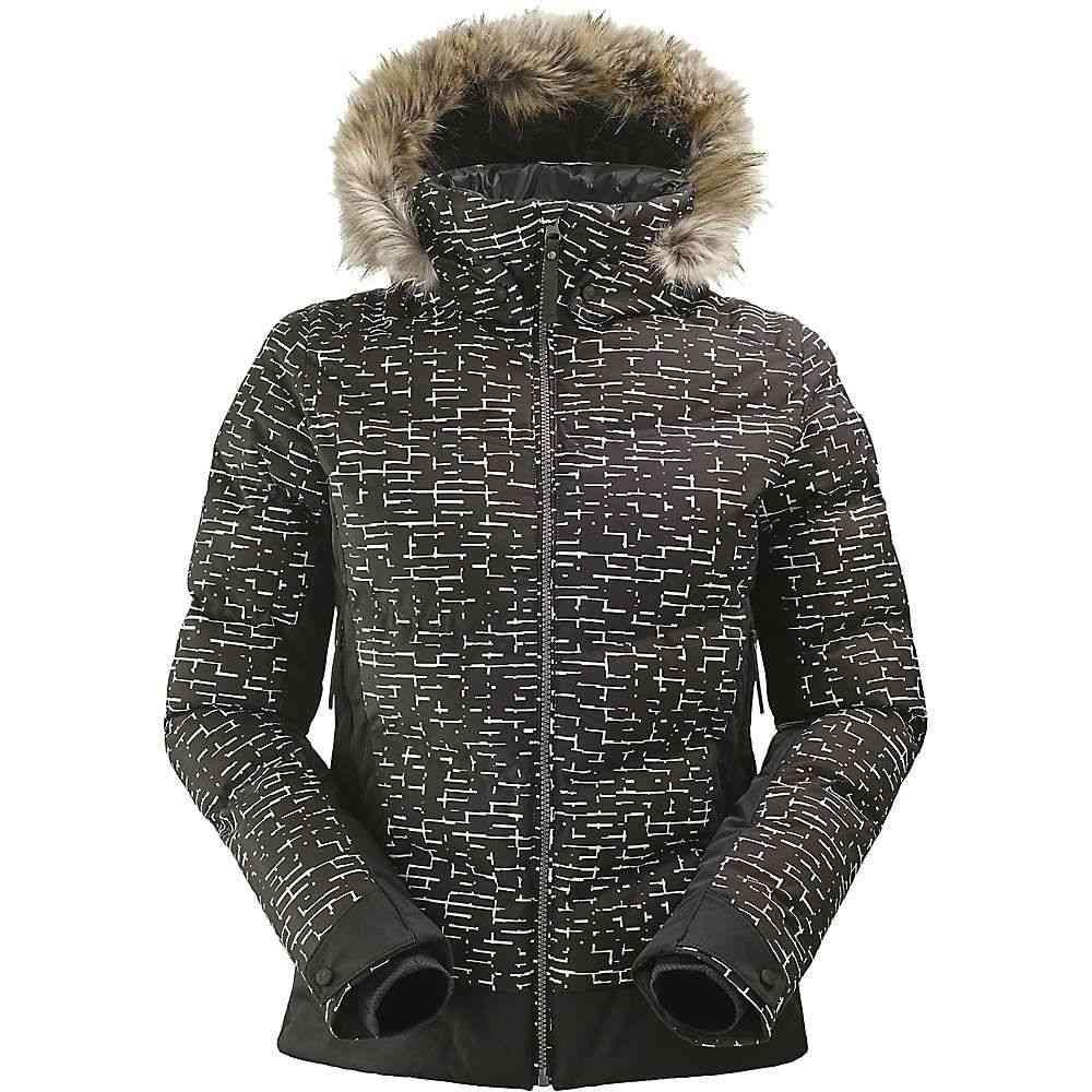 アイダー Eider レディース スキー・スノーボード アウター【Downtown Street ES Jacket】Black Print
