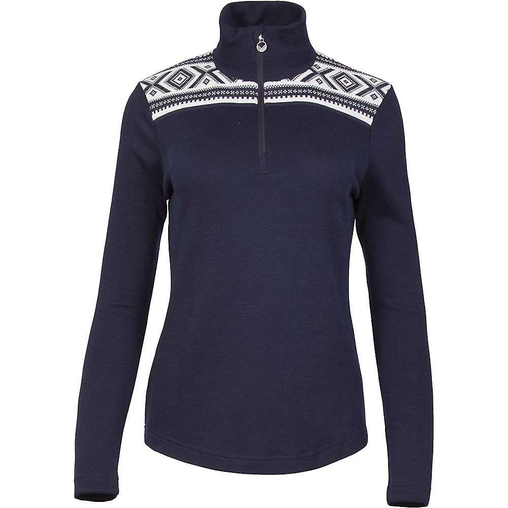 ダーレ オブ ノルウェイ Dale of Norway レディース ハイキング・登山 トップス【Dale Of Norway Cortina Basic Feminine Sweater】Navy / Off White