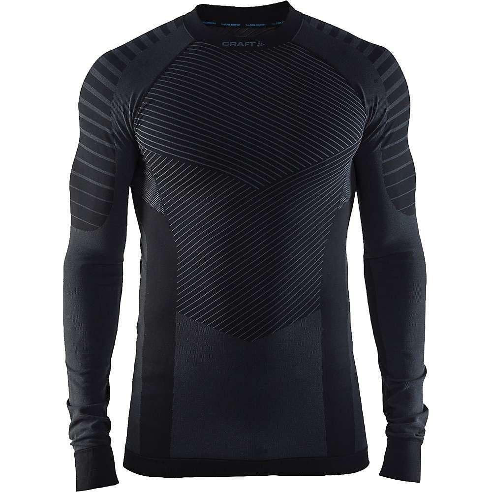 クラフト Craft Sportswear メンズ ランニング・ウォーキング トップス【Craft Active Intensity Crewneck LS Top】Black / Granite