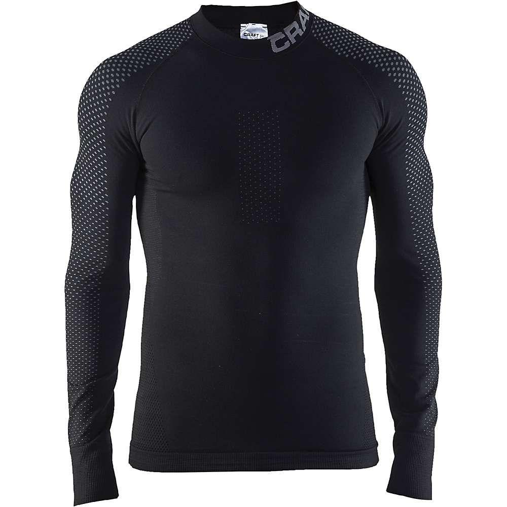 クラフト Craft Sportswear メンズ ハイキング・登山 トップス【Craft Warm Intensity Crewneck LS Top】Black / Granite
