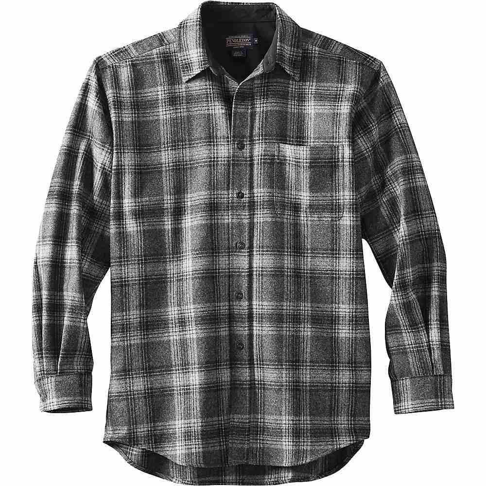 ペンドルトン Pendleton メンズ ハイキング・登山 トップス【Long Sleeve Lodge Shirt】Black/Grey Mix Plaid