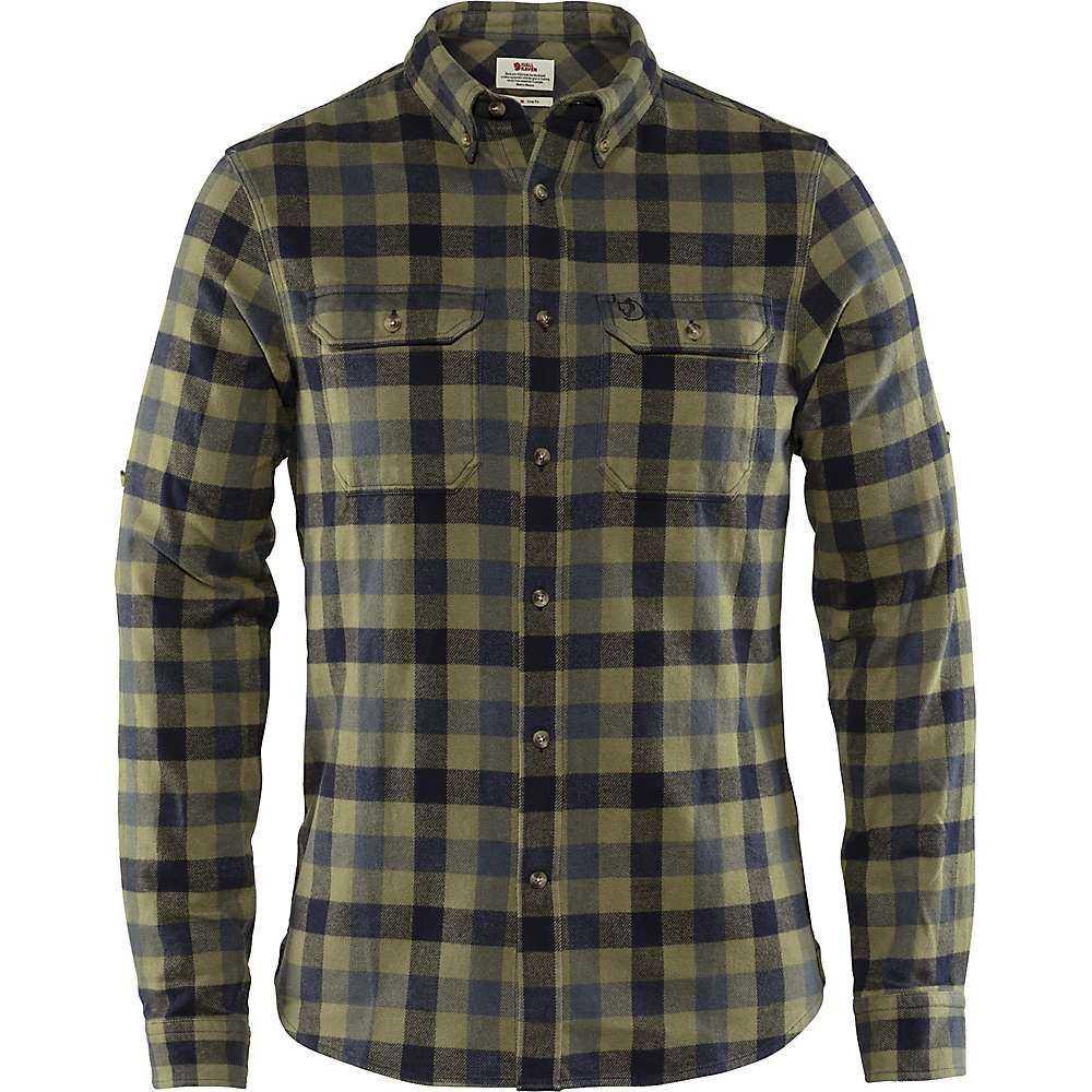 フェールラーベン Fjallraven メンズ ハイキング・登山 トップス【Skog Shirt】Dusk