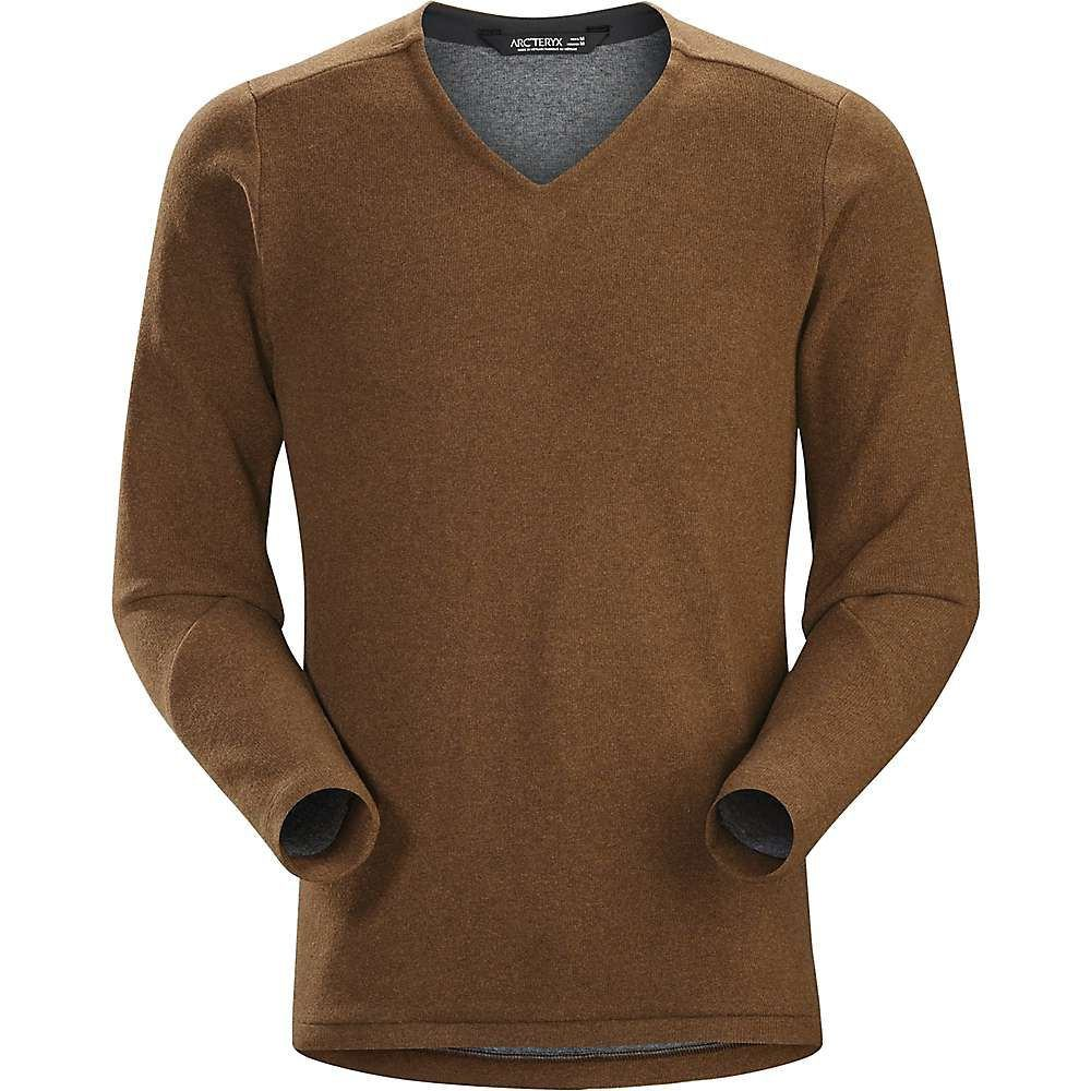アークテリクス Arcteryx メンズ ハイキング・登山 トップス【Donavan V-Neck Sweater】Elk Heather