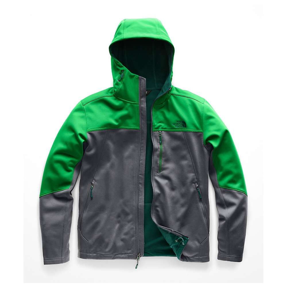 ザ ノースフェイス The North Face メンズ ハイキング・登山 トップス【Apex Canyonwall Hybrid Hoodie】Vanadis Grey / Primary Green