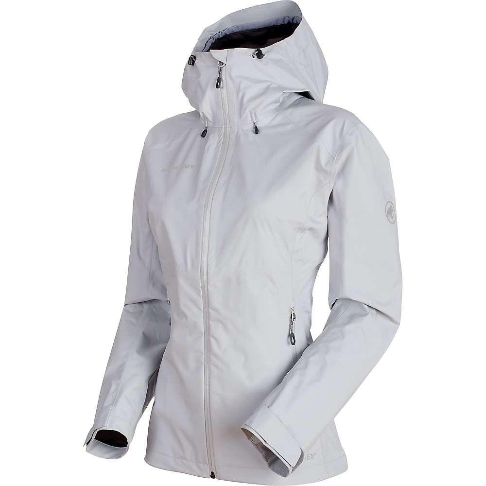マムート Mammut レディース アウター レインコート【Convey Tour HS Hooded Jacket】Marble