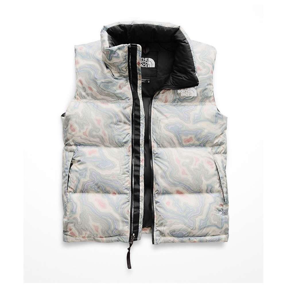 ザ ノースフェイス The North Face レディース トップス ベスト・ジレ【1996 Retro Nuptse Vest】Multi Topo Print
