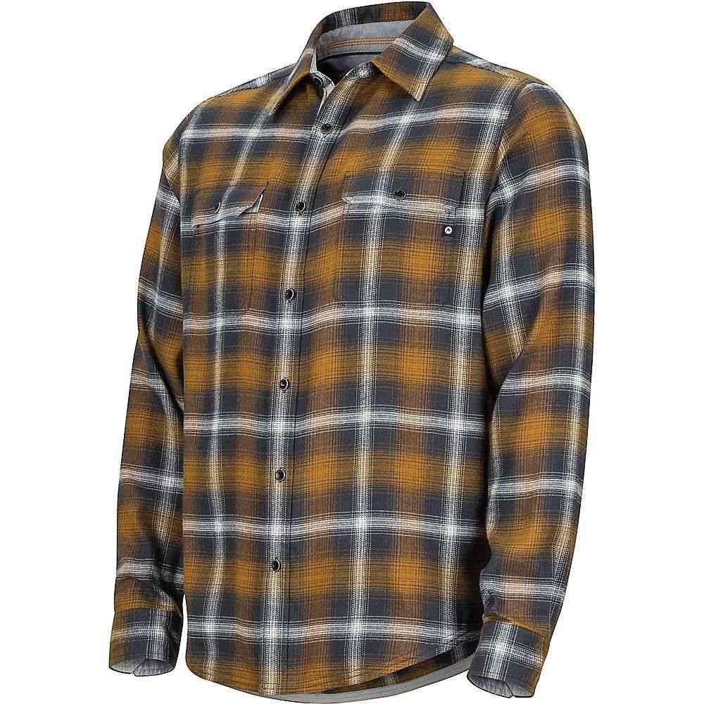 マーモット Marmot メンズ ハイキング・登山 トップス【Jasper Midweight Flannel LS Shirt】Slate Grey