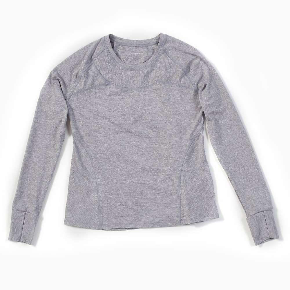 ストーンウェアデザイン Stonewear Designs レディース ハイキング・登山 トップス【Anthology LS Top】Silver Heather, Amazing:014154eb --- fvf.jp