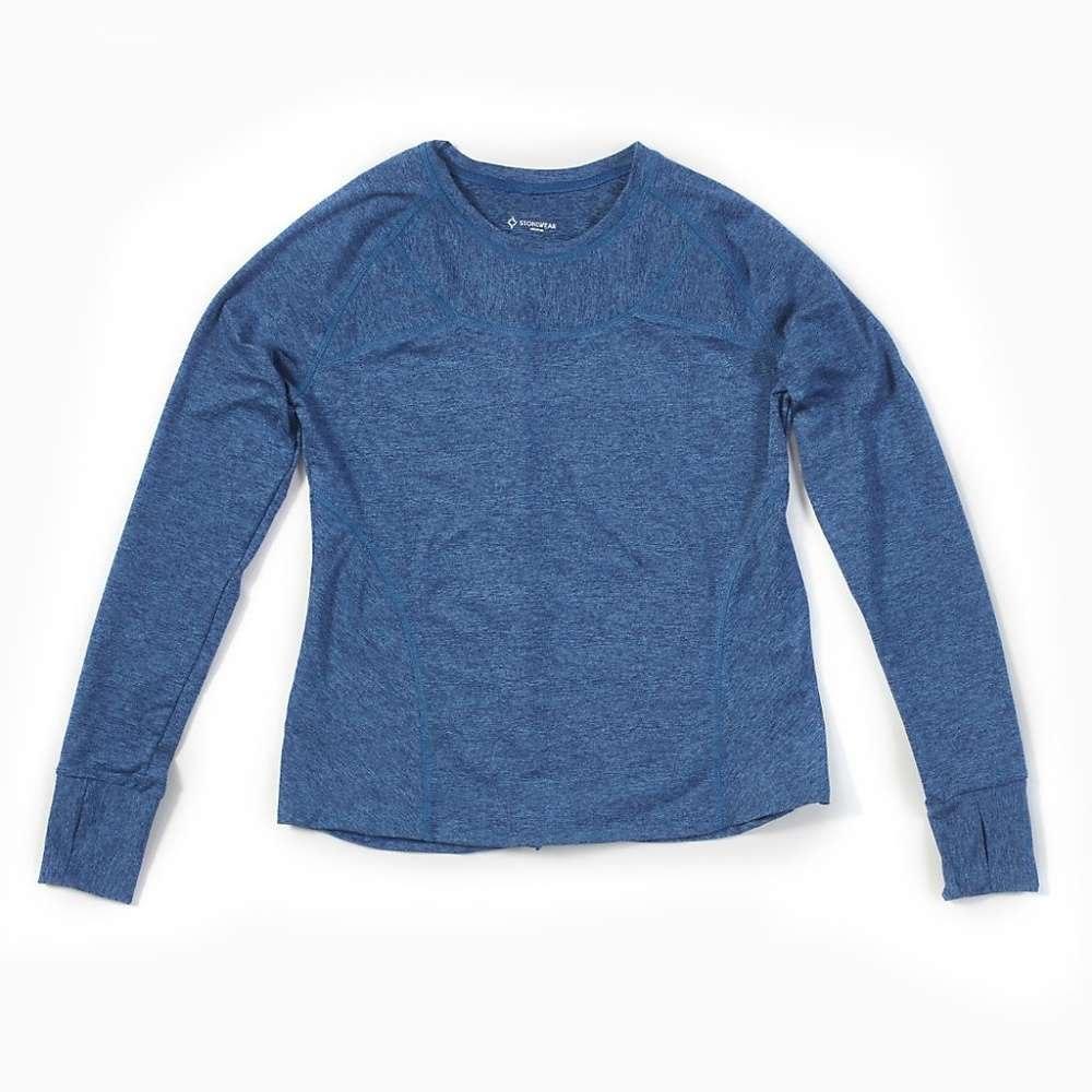 ストーンウェアデザイン Stonewear Designs レディース ハイキング・登山 トップス【Anthology LS Top】Blue Jay Heather