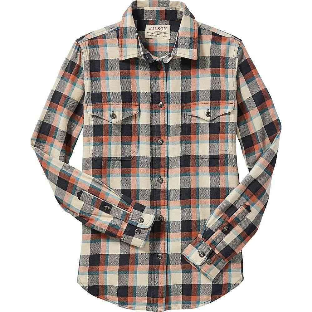 フィルソン Filson レディース ハイキング・登山 トップス【Scout Shirt】BgeCopBlk