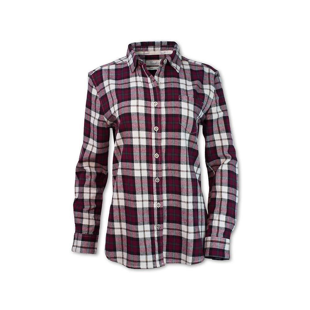 パーネル Purnell レディース ハイキング・登山 トップス【Maroon Flannel LS Shirt】Maroon