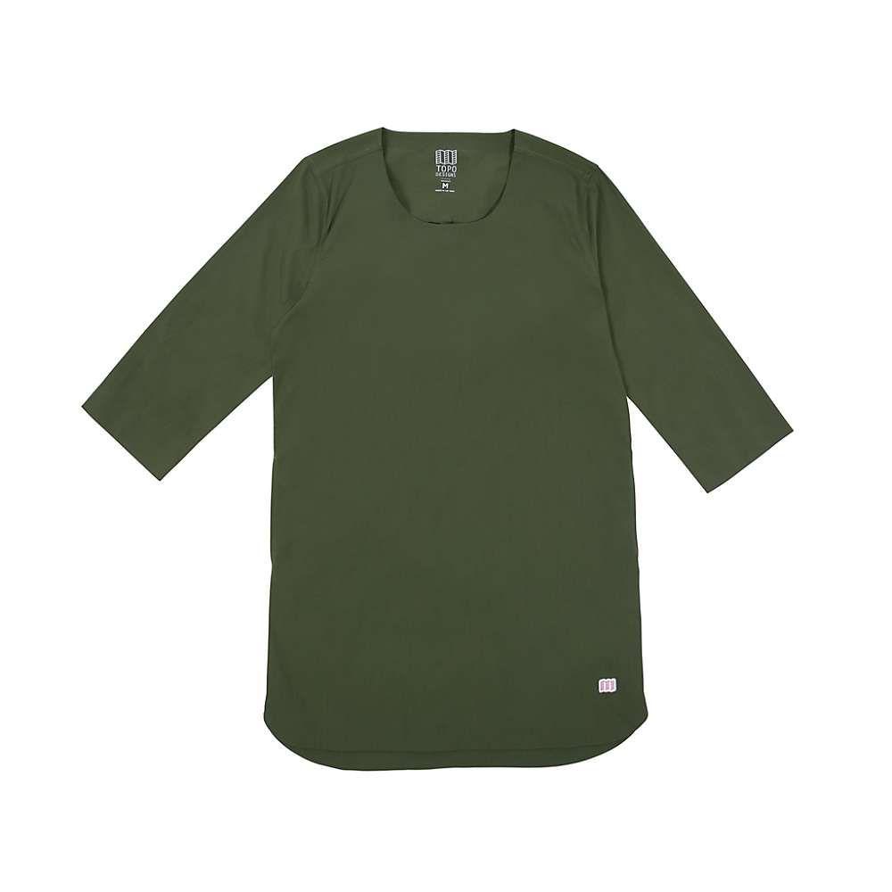 トポ デザイン Topo Designs レディース ハイキング・登山 トップス【Global Pullover Top】Olive