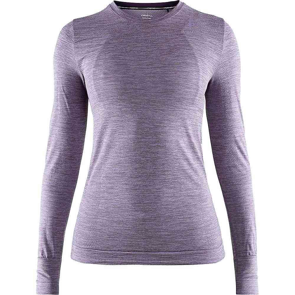 クラフト Craft Sportswear レディース ハイキング・登山 トップス【Craft FuseKnit Comfort Round Neck LS Top】Aura Melange