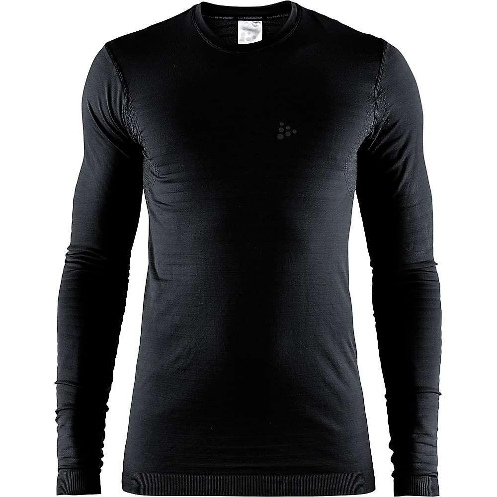 クラフト Craft Sportswear メンズ ハイキング・登山 トップス【Craft Warm Comfort LS Top】Black