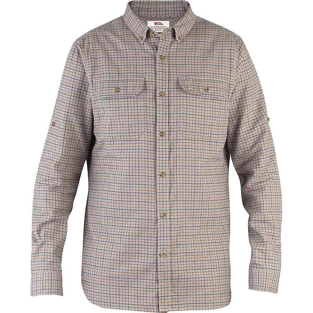 フェールラーベン Fjallraven メンズ ハイキング・登山 トップス【Forest Flannel Shirt】Grey