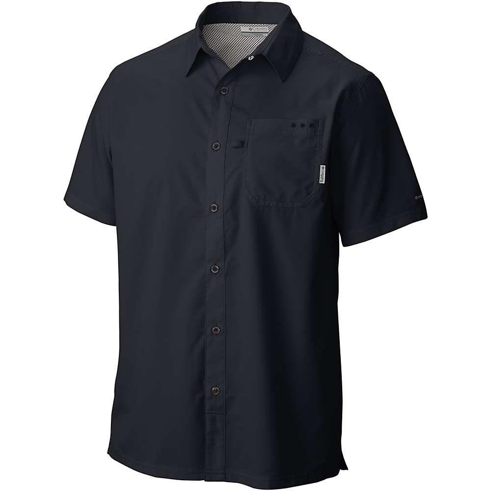 コロンビア Columbia メンズ ハイキング・登山 トップス【Slack Tide Camp Shirt】Black