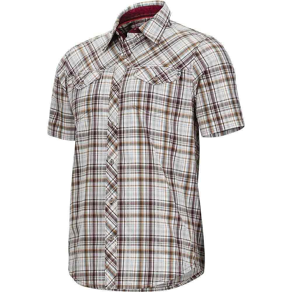 マーモット Marmot メンズ トップス 半袖シャツ【Riggs SS Shirt】Burgundy