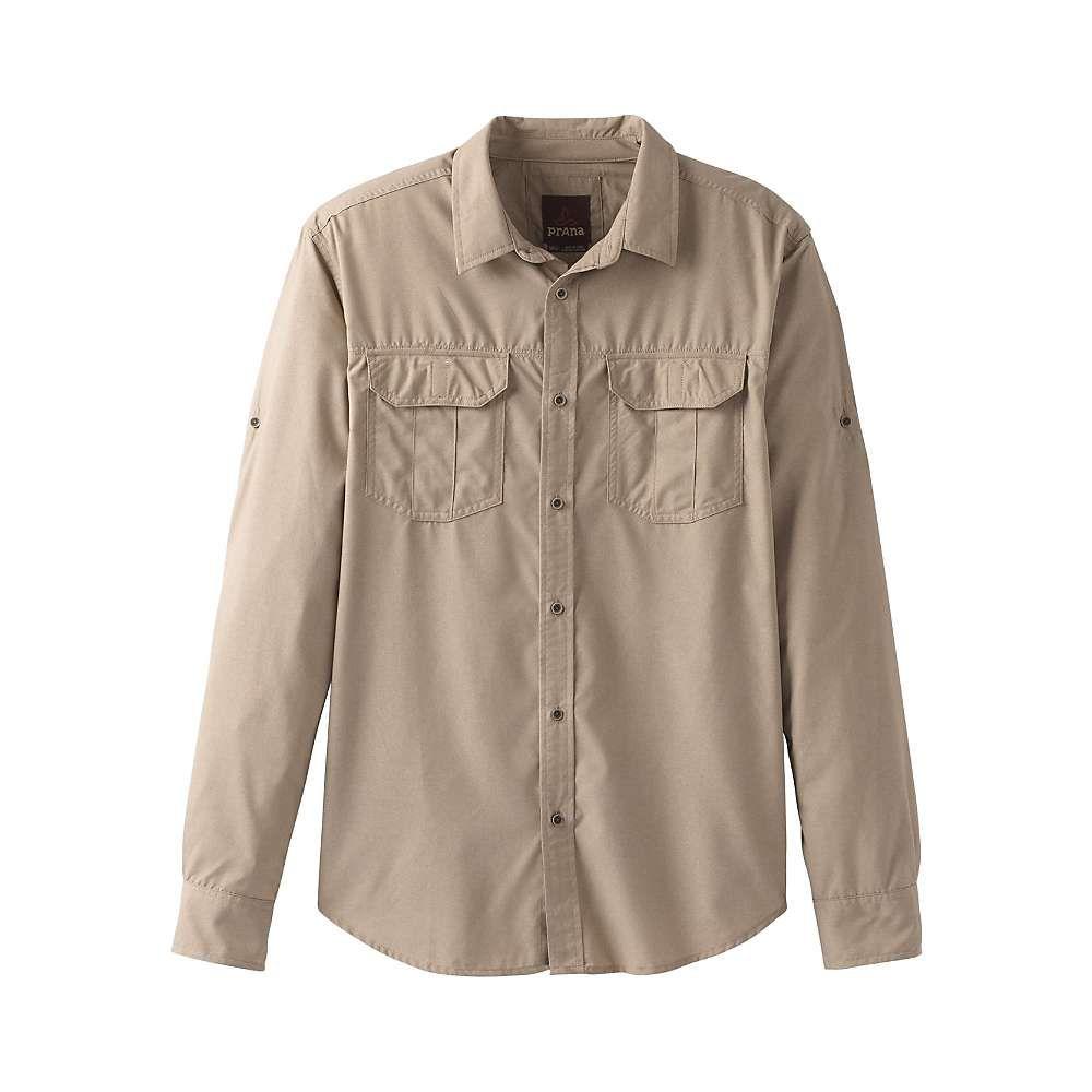 プラーナ Prana メンズ ハイキング・登山 トップス【Citadel LS Shirt】Dark Khaki