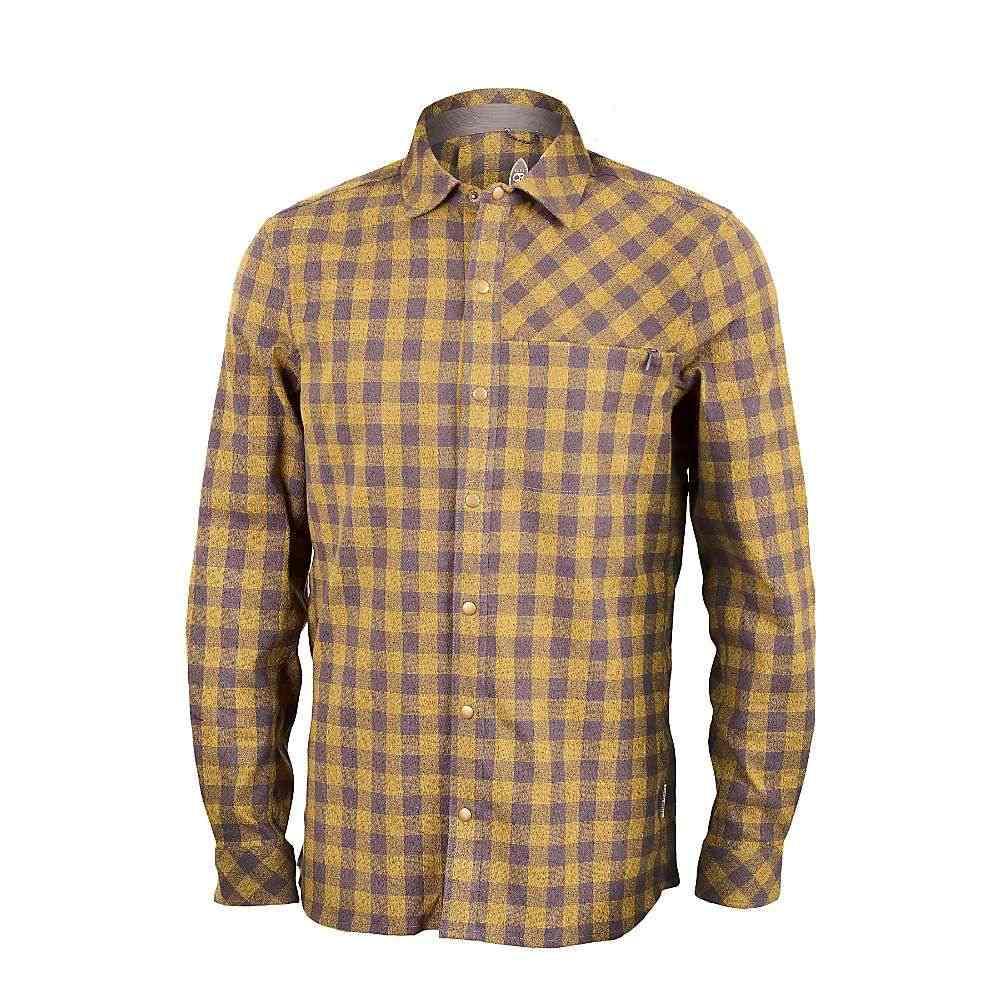 クラブライド Club Ride メンズ ハイキング・登山 トップス【Shaka Flannel II Shirt】Ecru / Olive