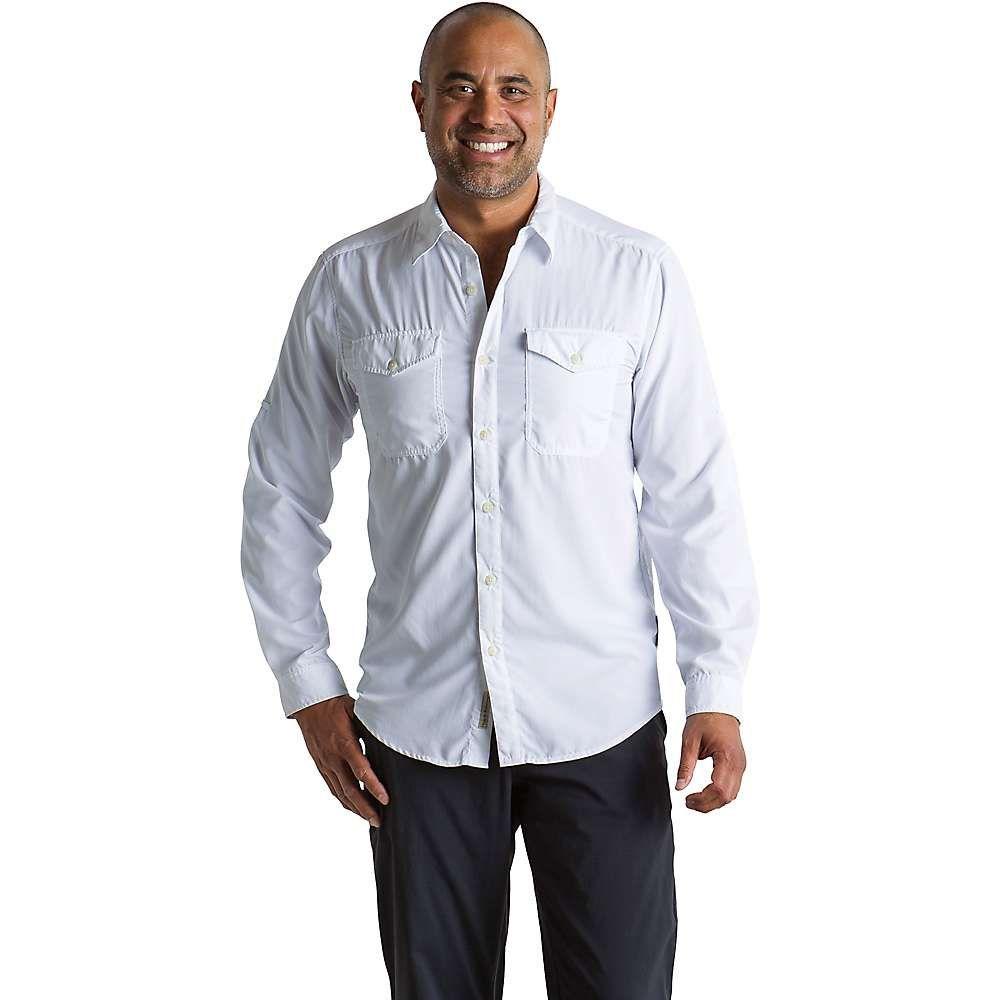エクスオフィシオ ExOfficio メンズ ハイキング・登山 トップス【BugsAway Briso LS Shirt】White