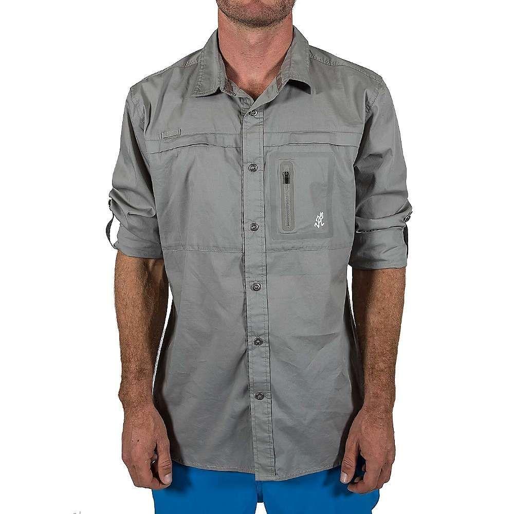 グラミチ Gramicci メンズ ハイキング・登山 トップス【LS No-Squito Shirt】Stainless Steel