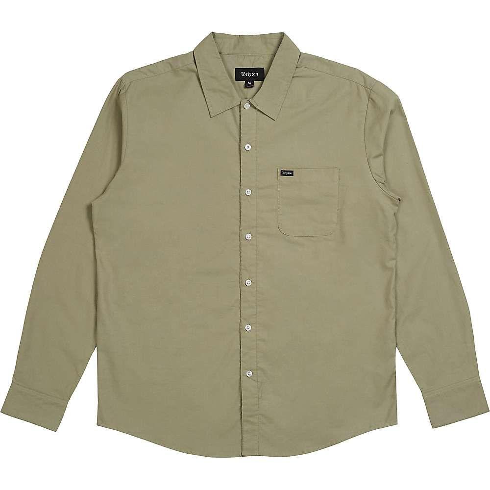 新品同様 ブリクストン Brixton Oxford メンズ ハイキング・登山 トップス【Charter Oxford Shirt】Sage LS メンズ Shirt】Sage, DOOON ショップ:038520b3 --- bibliahebraica.com.br