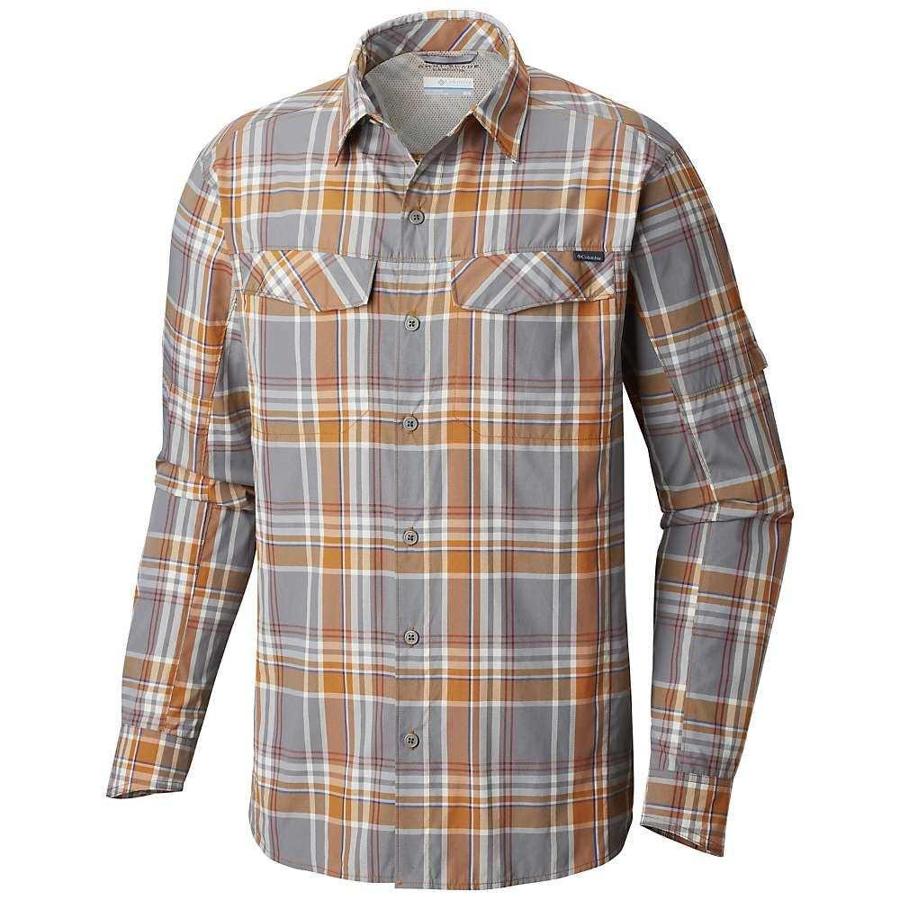 コロンビア Columbia メンズ ハイキング・登山 トップス【Silver Ridge Plaid LS Shirt】Bright Copper Plaid