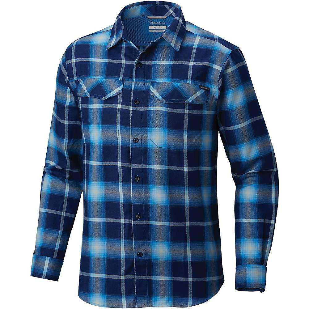 コロンビア Columbia メンズ ハイキング・登山 トップス【Silver Ridge Flannel LS Shirt】Azure Blue Plaid