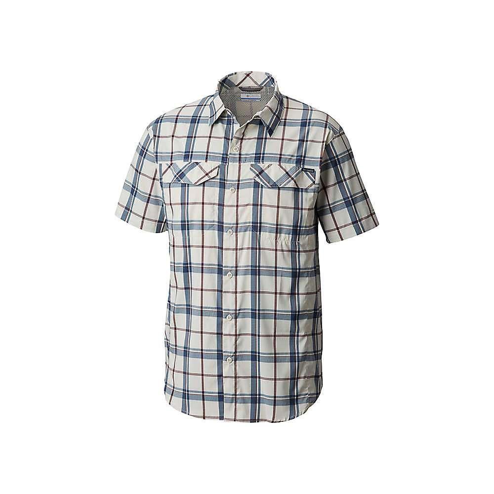 コロンビア Columbia メンズ ハイキング・登山 トップス【Silver Ridge Lite Plaid SS Shirt】Stone Large Plaid