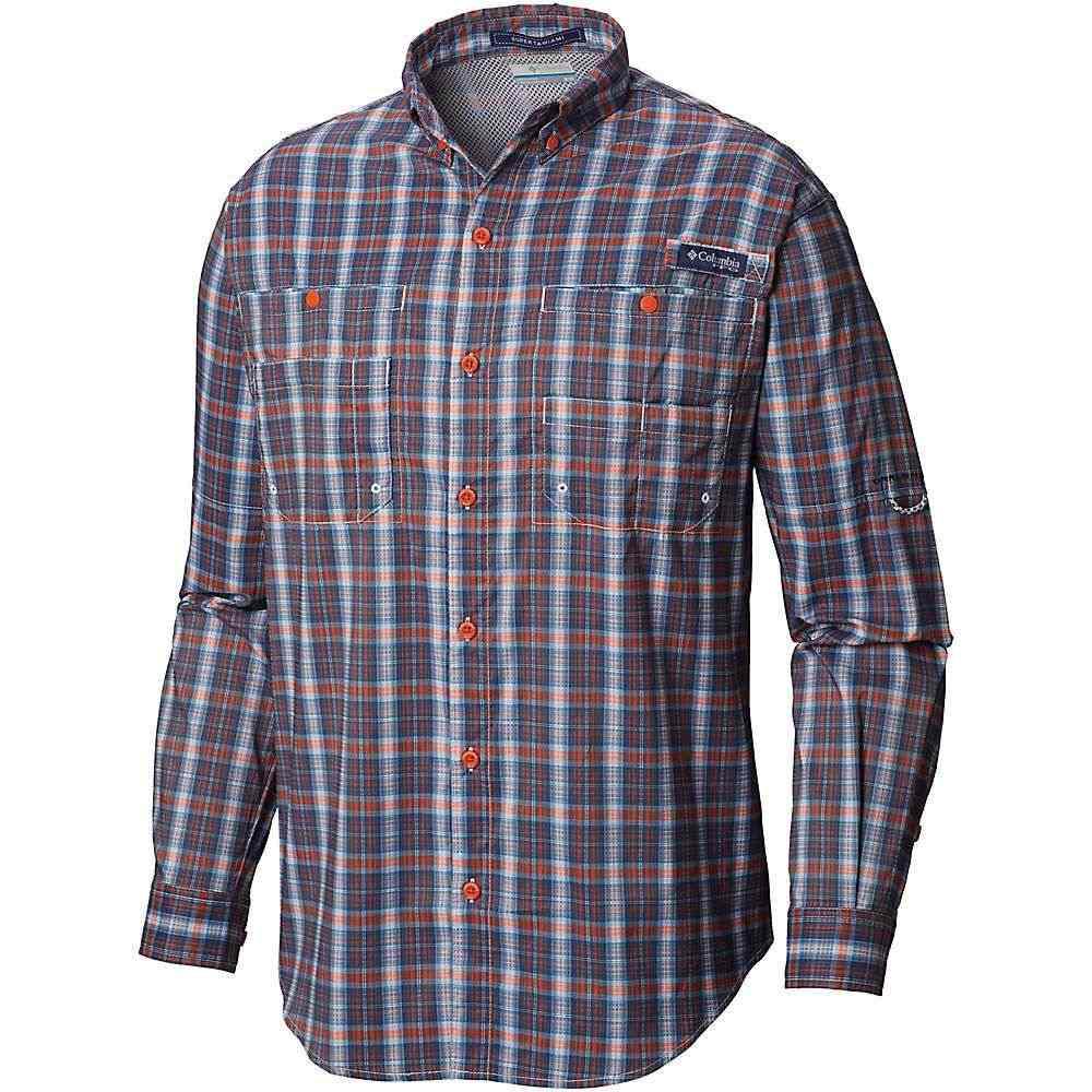 【年間ランキング6年連続受賞】 コロンビア Columbia メンズ メンズ LS ハイキング・登山 トップス【Super Plaid Tamiami LS Shirt】Backcountry Orange Plaid, タイセイチョウ:a5976fa7 --- clftranspo.dominiotemporario.com